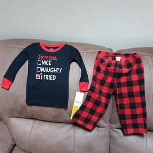 Brand New Carters Size 18 month PJ's